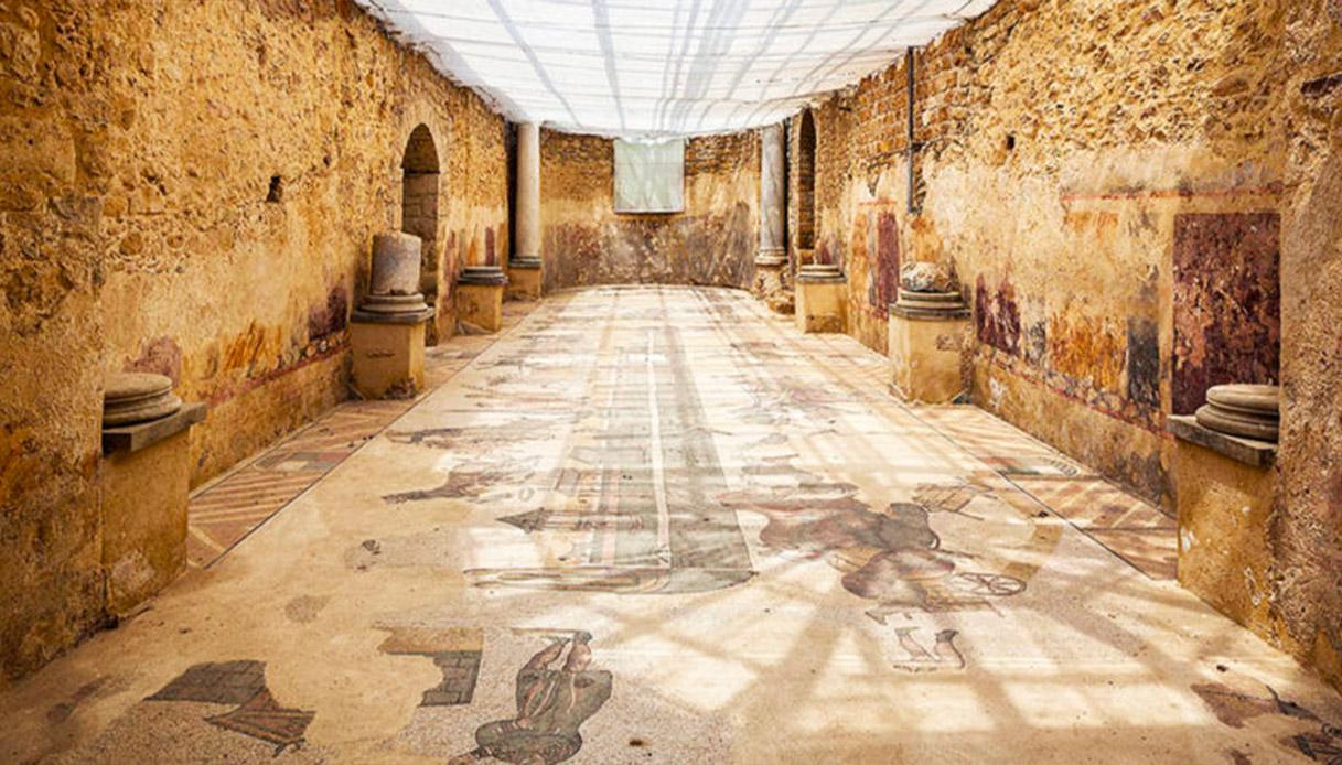 Villa romana del  Casale.